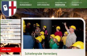Schiefergrube Herrenberg, Bundenbach