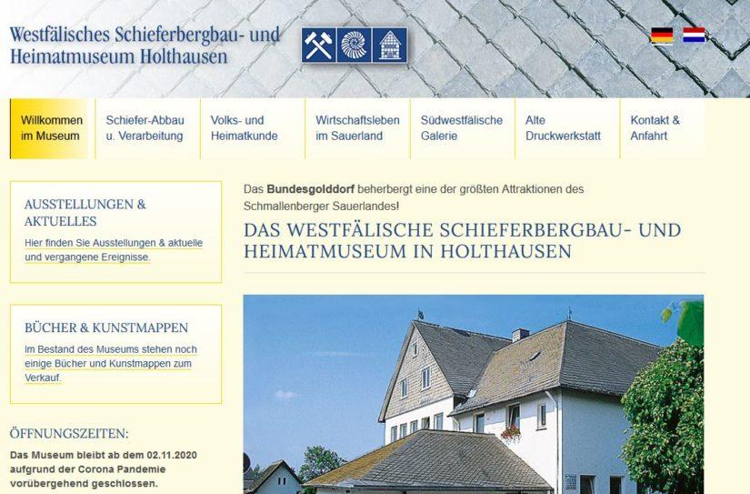 Schieferbergbau- und Heimatmuseum Holthausen